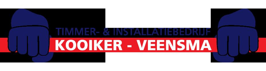 Logo Kooiker en Veensma timmer en installatiebedrijf